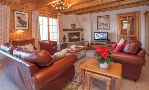 Chalet Tranquille interior features