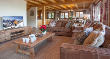 Gorgeous and spacious at Chalet Daim