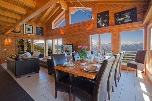 fantastic 270 degree views from Chalet Martini