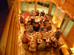 New Year festivities at Chalet La Luge